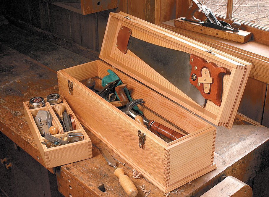 Cabinetmaker's Tool Chest | Woodworking Project ... |Tool Box Woodworking Plans