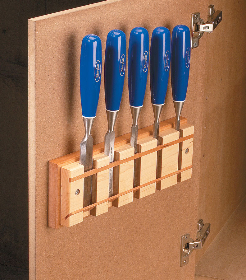 Chisel Rack Woodworking Project Woodsmith Plans