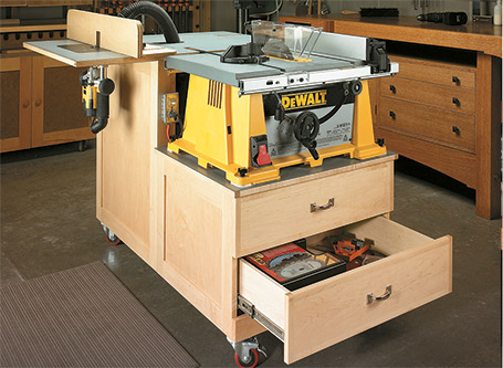 Table Saw/Router Table Cart