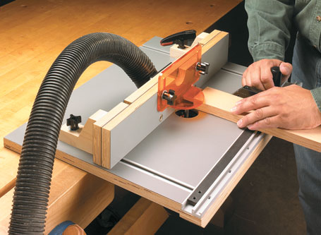 Stow-Away Router Table
