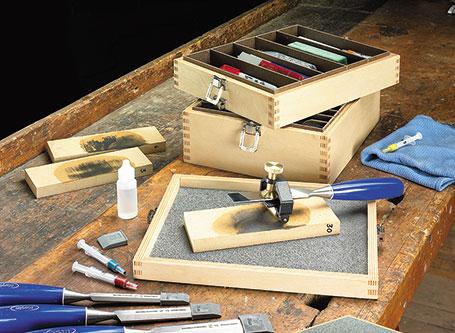 Sharpening Supplies Box