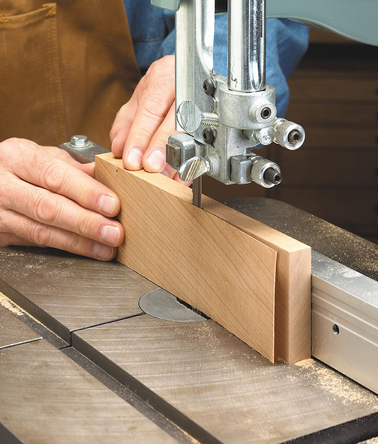 You can turn your band saw into an all-purpose, precision workhorse. All you need are some simple tools and a few minutes of time.