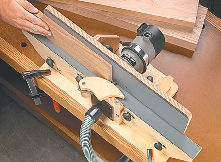 Shop-Built Router Jointer