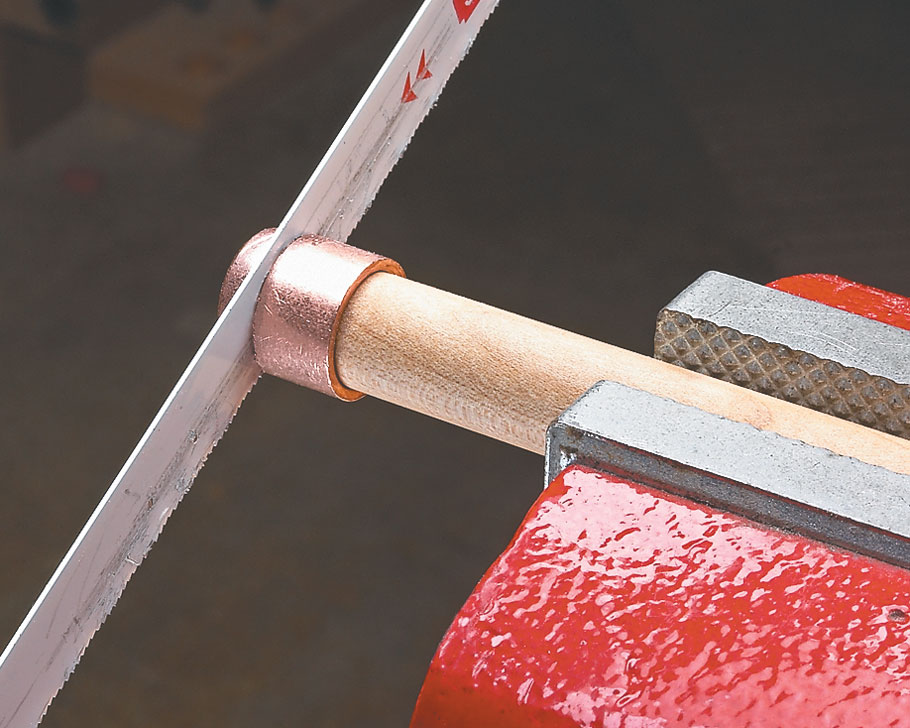 Get a better grip on your layouts with this shop-made handle for your marking knife.