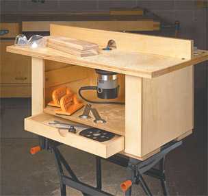 Quick & Easy Router Table