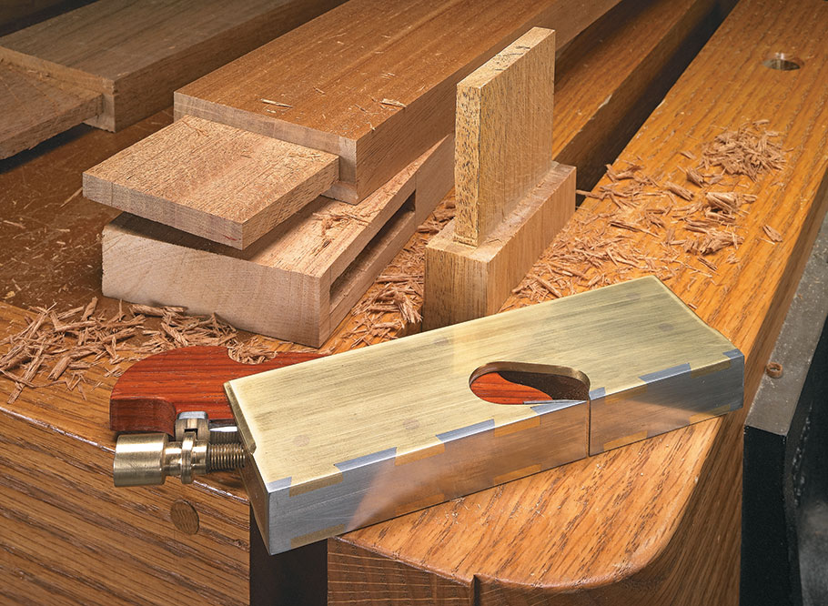 Make an heirloom tool and learn the secret to creating double dovetails in metal — it's easier than you think.