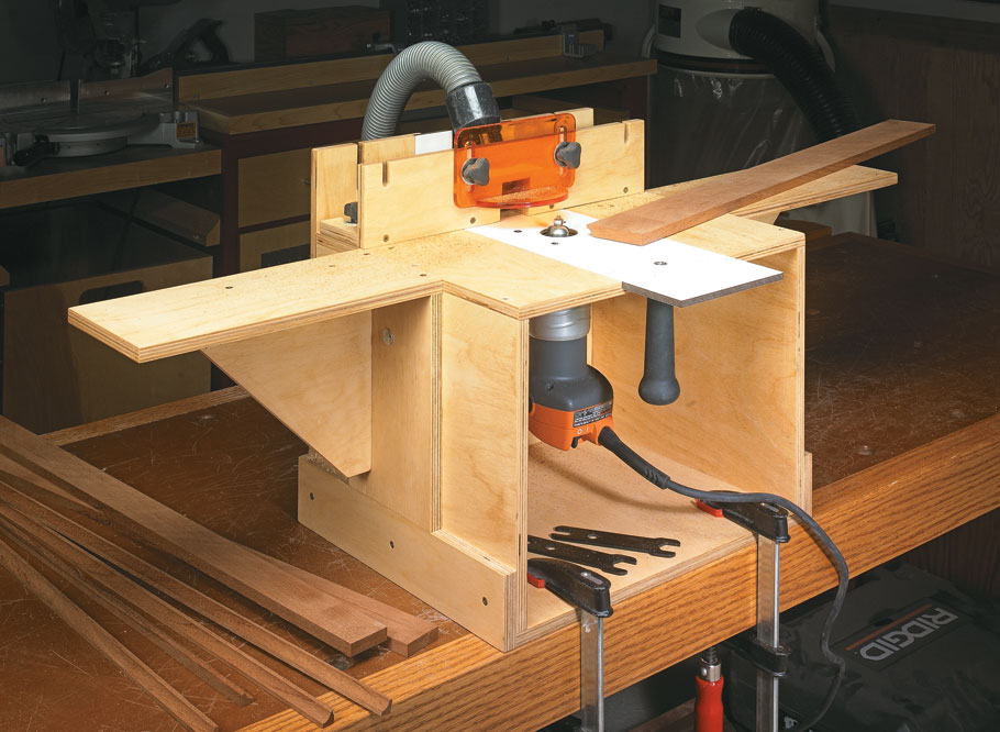 Router table, mortiser, edge jointer — this compact, easy-to-build project does it all.