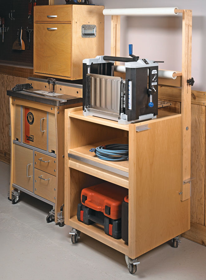 Make your shop workhorse even more productive with this handy project.