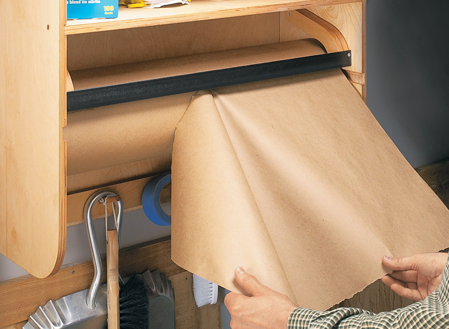 Keep your cleaning supplies close at hand with this heavy-duty storage center.