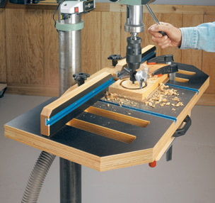 Woodworking Drill Press Table