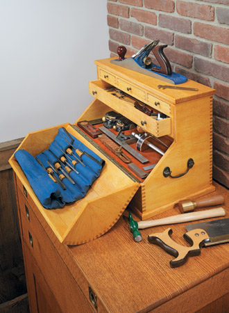 Curved-Lid Tool Chest