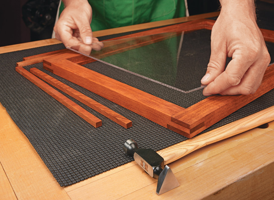This easy-to-build cabinet is the perfect place to organize and show off your fine hand tools.
