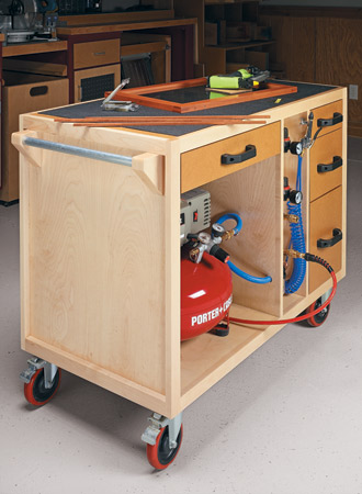 Mobile Air Tool Station