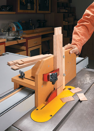 Adjustable Tenon Jig