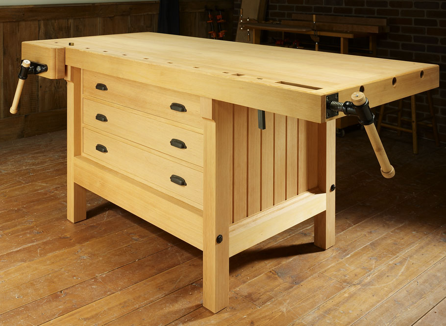 Admirable Cabinetmakers Workbench Woodworking Project Woodsmith Plans Gmtry Best Dining Table And Chair Ideas Images Gmtryco
