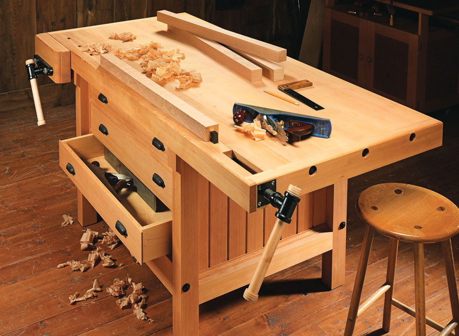 Fine Cabinetmakers Workbench Woodworking Project Woodsmith Plans Gmtry Best Dining Table And Chair Ideas Images Gmtryco