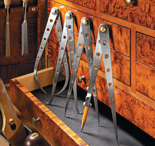 Heirloom Calipers & Dividers Set