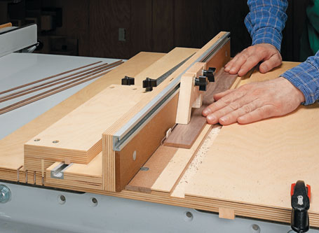 Precision-Cutting Small Parts Jig