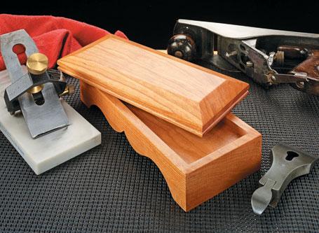 Sharpening Stone Storage Box