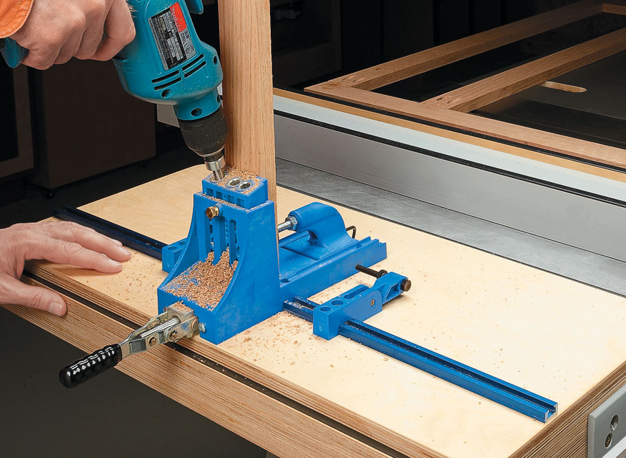 Turn an ordinary contractor's-style table saw into a versatile joinery, assembly, clamping, and routing station.