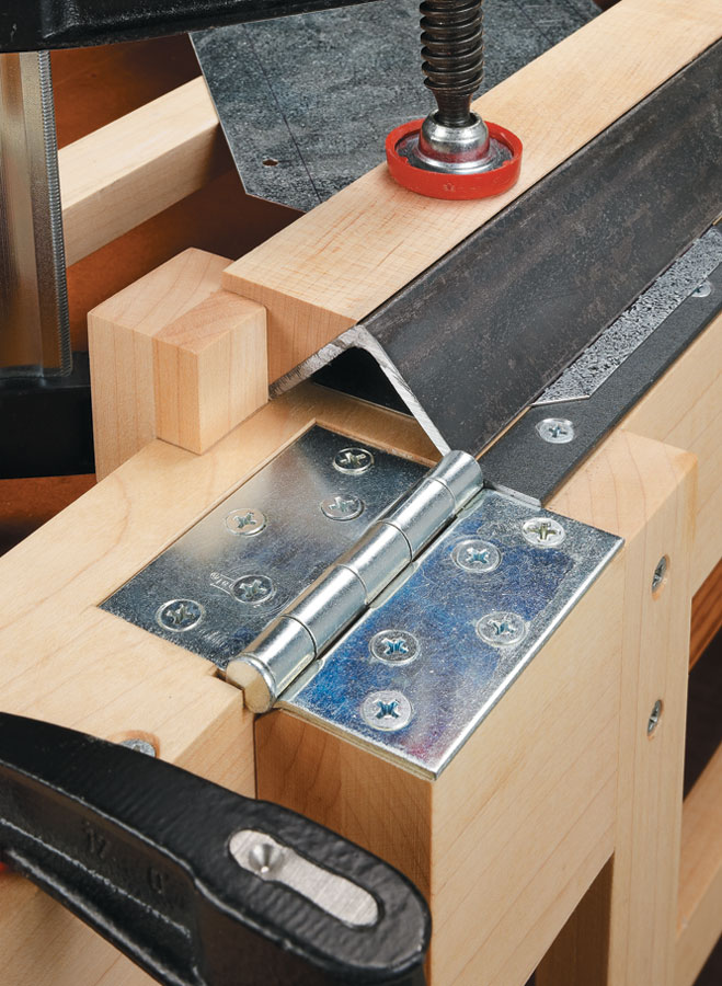 The possibilities for shop projects are endless with this simple jig for bending sheet metal.