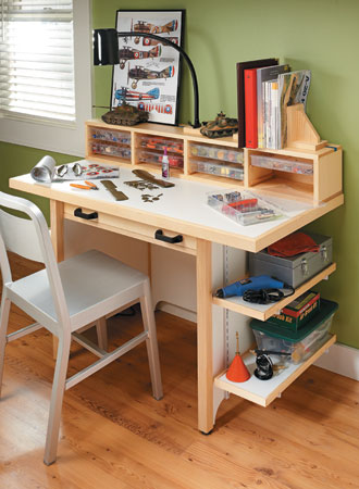 Hard-Working Hobby Bench