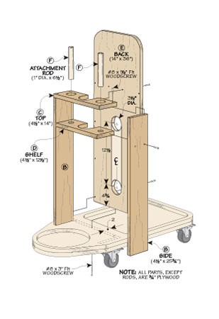 Shop Vacuum | Woodworking Project | Woodsmith Plans