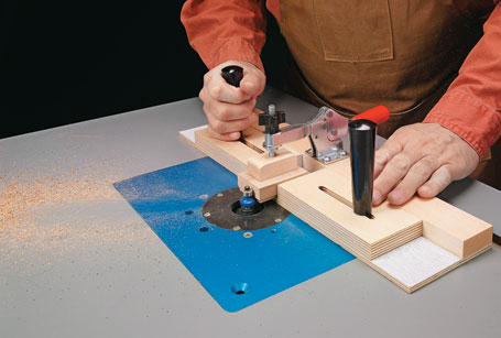 Routing Small Parts