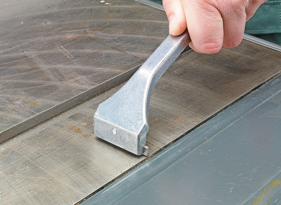 A smooth, clean surface on your table saw is more than just cosmetic, it's a key factor in better cuts.
