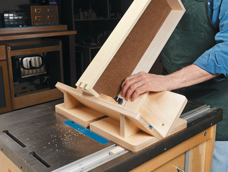 Router Table Dovetail Key Jig