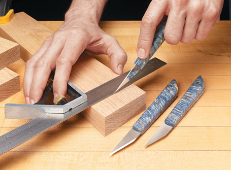 Shop-Made Marking Knives