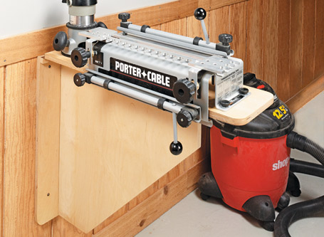 Fold-Down Dovetail Jig Station