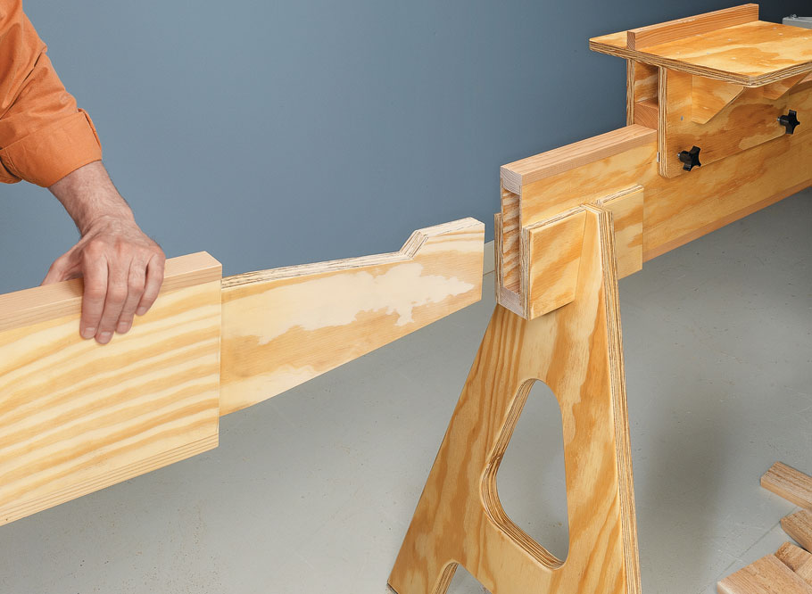 This lightweight, easy-to-build stand is at home in your shop or out at the worksite.