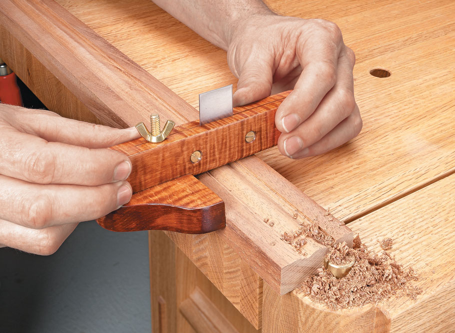 Create custom profiles with this heirloom tool that you can build in a weekend.