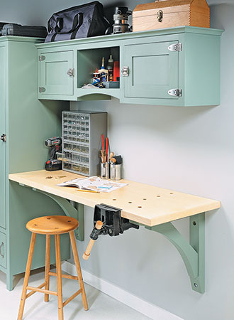 Wall-Hung Workbench