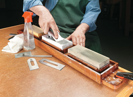 Waterstone Sharpening Tray