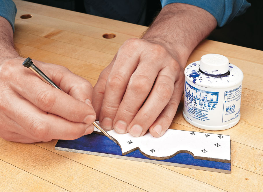 Show off your craftsmanship and attention to detail with this great-looking heirloom tool.