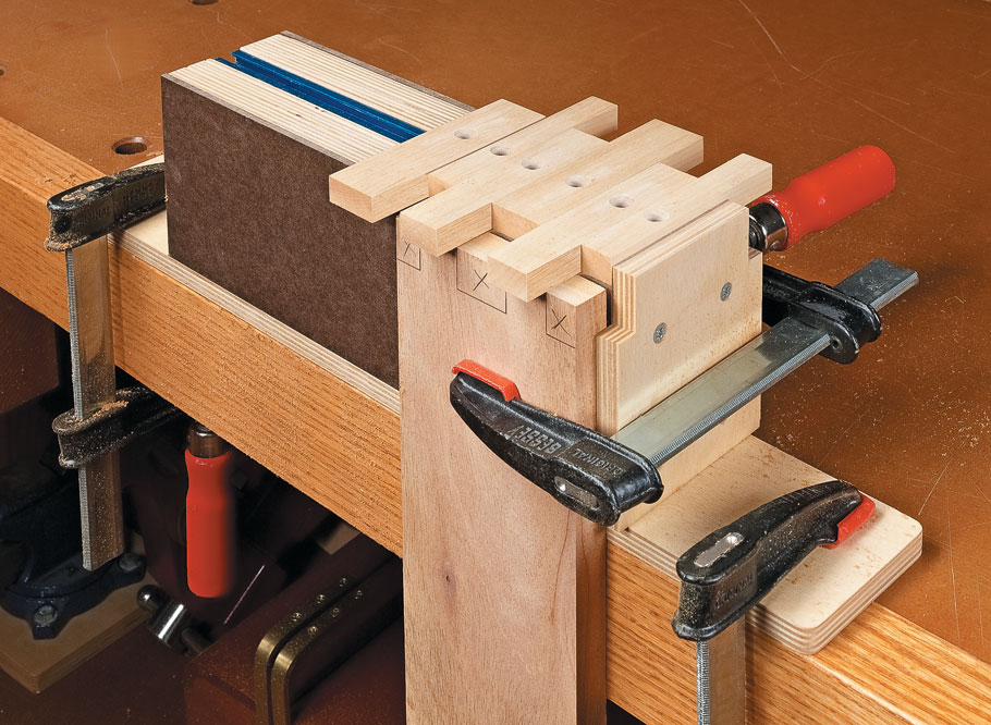 The flexibility of this unique jig makes it easy to add eye-catching elements to your next project.