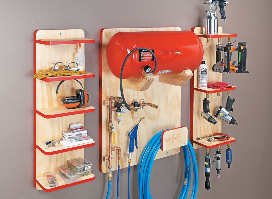 Give your air tools a home of their own and all the air they need to achieve maximum performance.