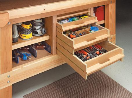 Workbench Storage System