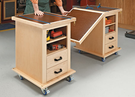 Multifunction Shop Carts