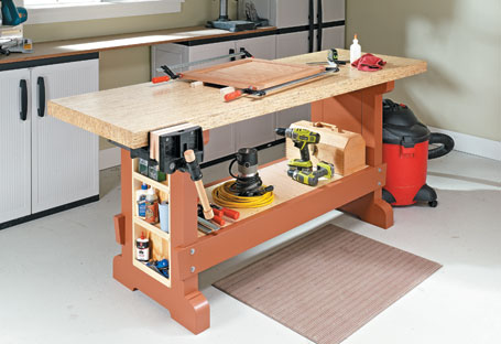Sturdy, Affordable Workbench