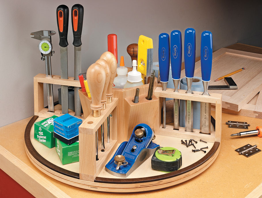 Keep your benchtop organized and your tools close by with this handy shop accessory.