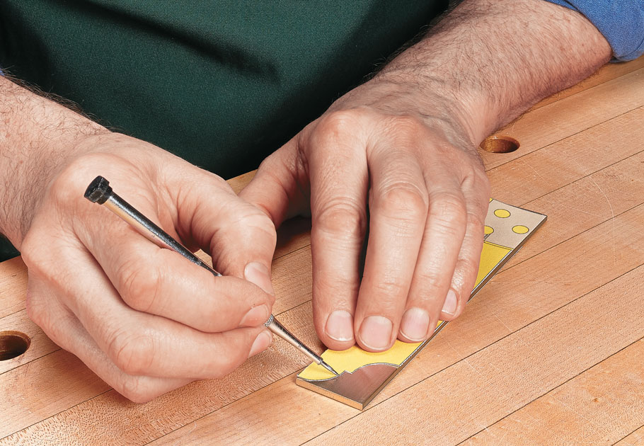 All it takes to make a set of precision layout tools is a relaxing afternoon in the shop.