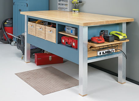 Modern Power Tool Bench
