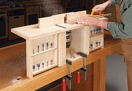 Compact Router Table