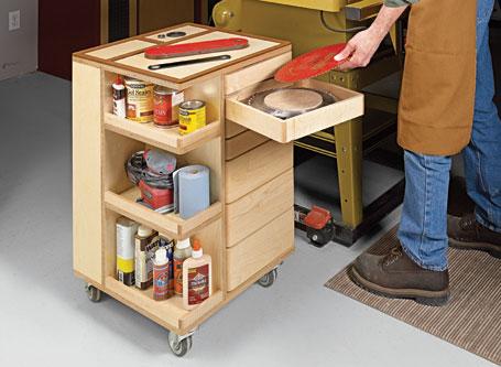 Shop Storage Cart