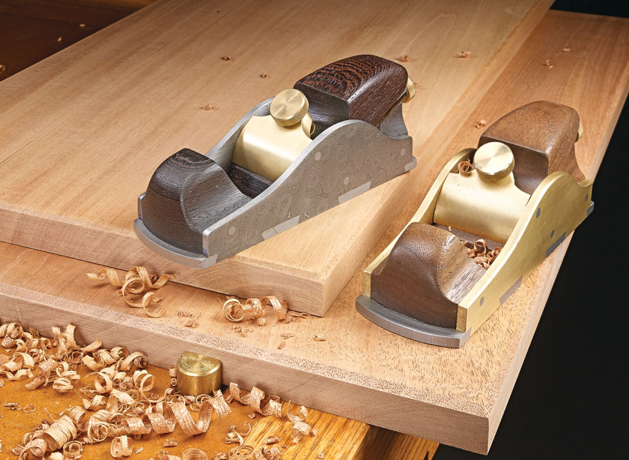 The precise adjuster for the iron and the solid heft make these planes a delight to build and use.