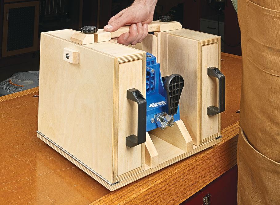 Pocket Hole Jig Workstation Woodworking Project