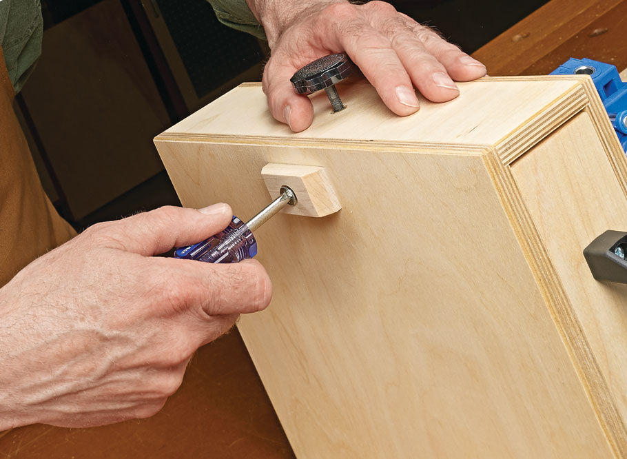 Keep your pocket hole jig and all its accessories in one compact, portable workstation.